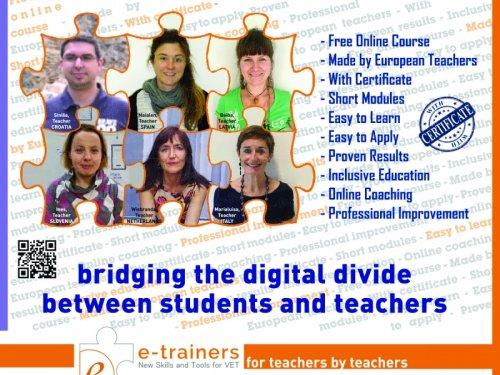 E-trainers: sviluppare nuove attività educative in 9 lingue