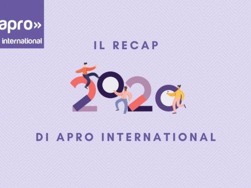 Il 2020 di Apro International