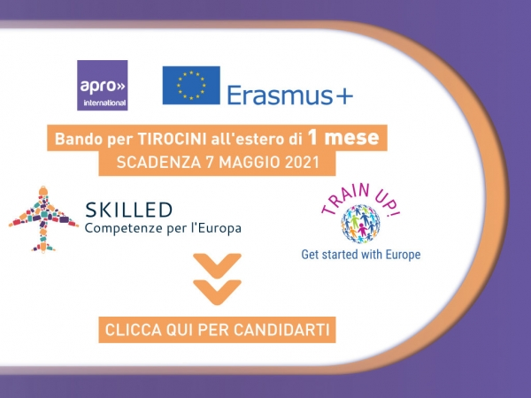 SKILLED e TRAIN UP - 1 Mese - 2021